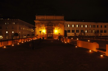 Dinner at Palazzo Colonna